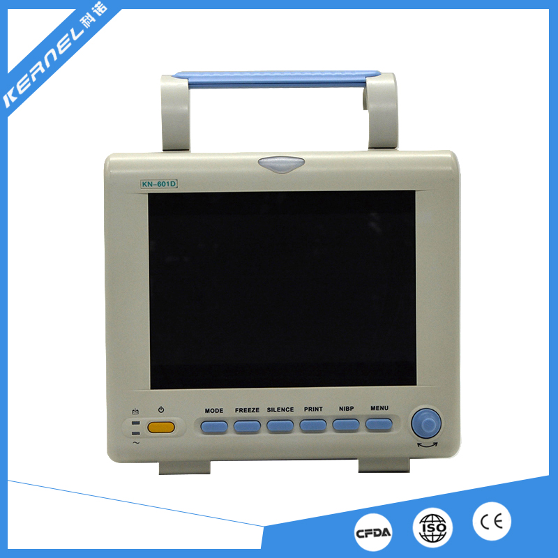 KERNEL KN-601D  8 1inch medical 6 parameter multiparameter patient monitor for ICU