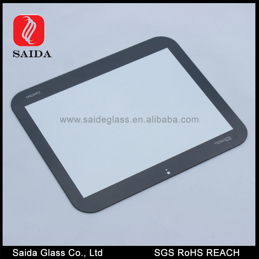 LED/LCD/TV screen protector tempered glass with CNC grinding edge