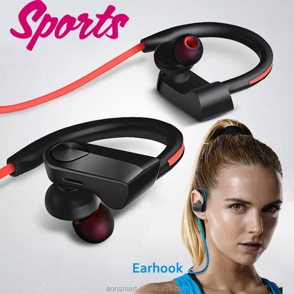 necklace stereo earhook wireless earphones <strong>bluetooth</strong> 4.0