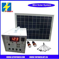 Solar Lighting Power System work with LED,10W-20W,Power for Lamps,Mobile Phone,Laptops