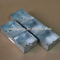 With earthing terminal floor box/metal junction box ip65