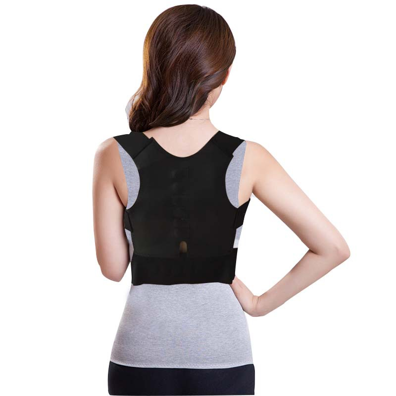 Buy Magnetic Posture Corrector Braces Support Body Back Pain Belt Brace Shoulder For Men Women Care Health Adjustable Band in Cheap Price on