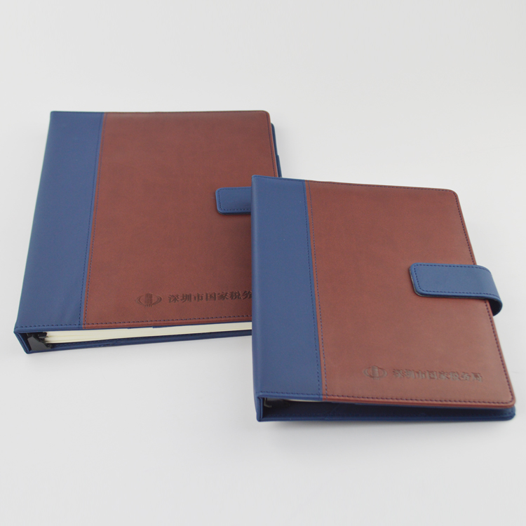 Wholesale Cheap Custom Leather a5 hardcover Notebook