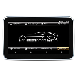 ZOPAI 10.1 Inches Automobile Dual Headrest DVD Player for CAR