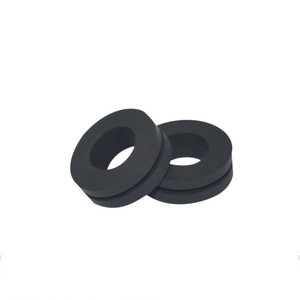 Machinery metal sheet wire line fixing sleeve silicone NBR rubber grommet stopper with hole