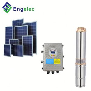 4 inches 5 hp solar powered water pump