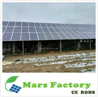 Solar power generator system 4KW 5KW set with battery / 3000W 220V solar panel power system