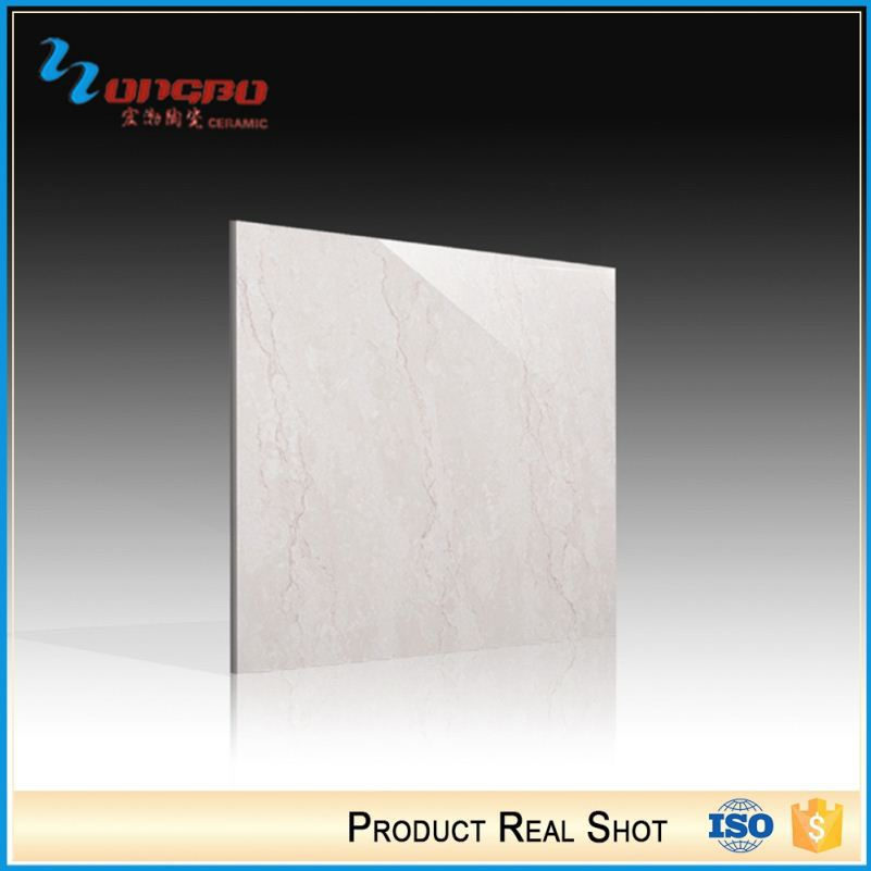 Ceramic Foshan Porcelain High Gloss White Polished Tile 60X60