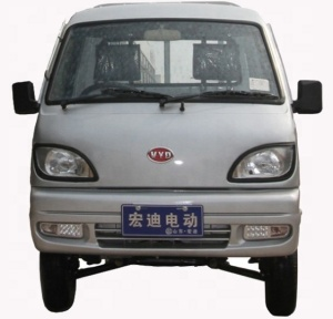 China Hongdi brand 2 seat electric small cargo pickup truck for sale