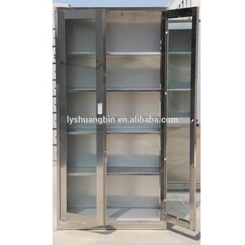 Rta Kitchen Pantry Storage Glass Stainless Steel Cabinet - Buy Stainless  Steel Cabinet,Stainless Steel Cabinets,Stainless Cabinet Product on ...