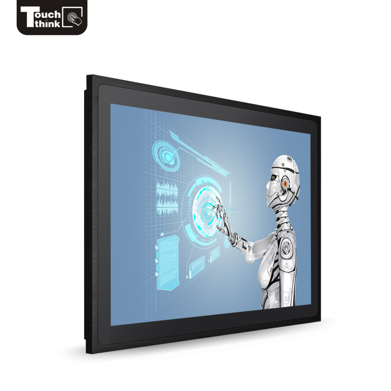 21.5 inch outdoor display waterdicht ip65 touchscreen monitor met hoge helderheid 2000 nits