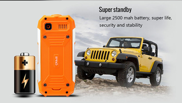 Big shark rugged phone with gms dual sim