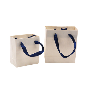 Wholesale Custom Logo Color Printed Luxury Paper Bag Jewelry Gift Packaging Bags