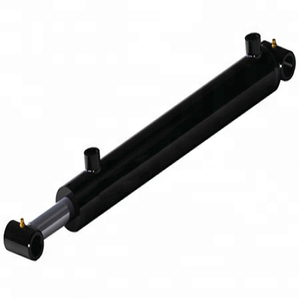 Welded series cross tube mounting type cheap hydraulic cylinder for door