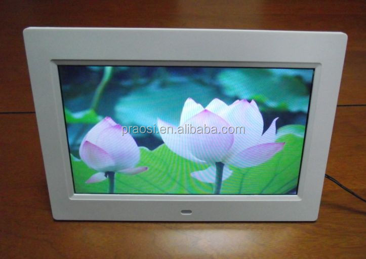 10 inch LCD Video wifi electronic photo frame support mouse/keypad