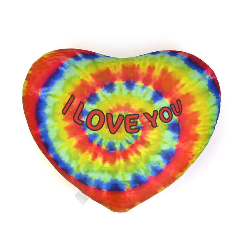 Factory Custom Decortive Love Heart Shape Microbeads Pillow