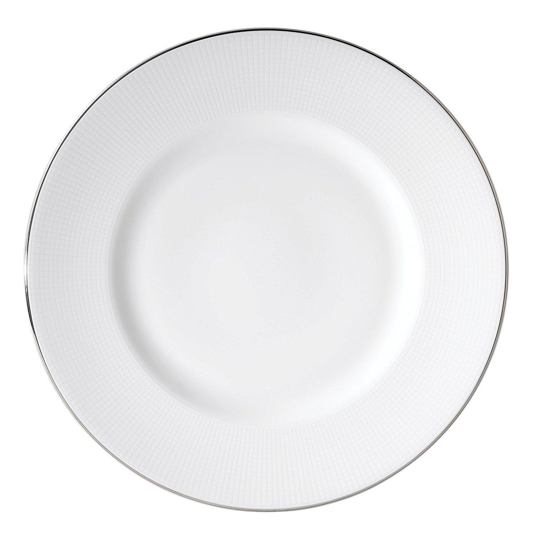 "Wedgwood Blanc Sur Blanc Accent Salad Plate, 9"", White"