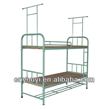 Dormitory Student Steel-wood Bunk Bed