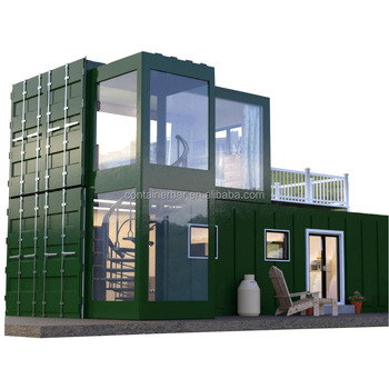 Two story High Quality prefabricated house low prices Modular Living Homes prefab houses Fast Construction Cheap Real Estate