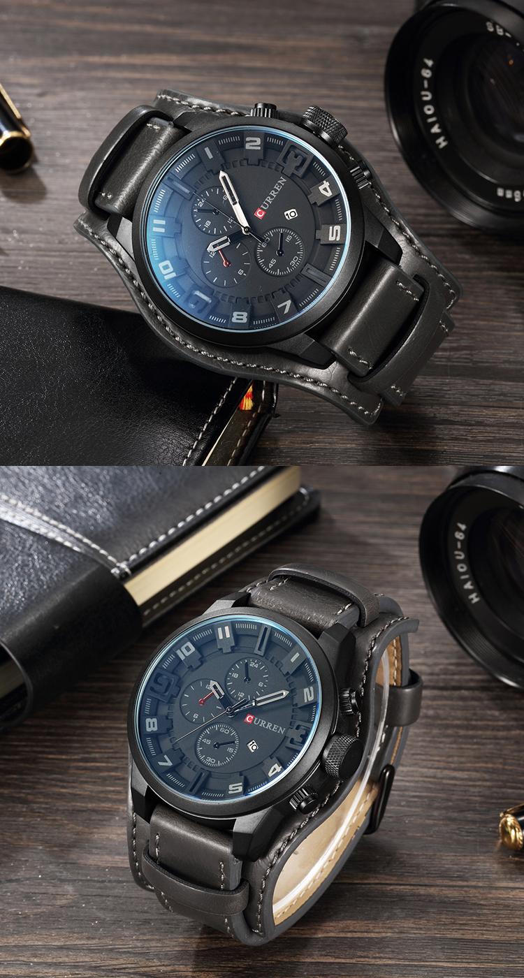 Элитные мужские часы Curren 8225 в Кирове