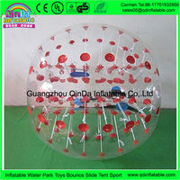 Made in China Guangzhou manufacturer offers good quality toys for football sport giant bubble inflatable bump ball