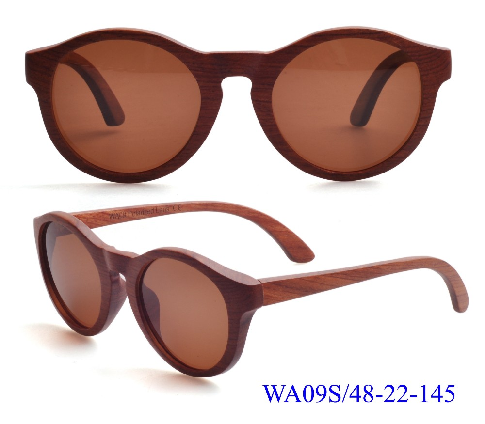 Mix Color Vintage Wooden Sunglasses (WA09)