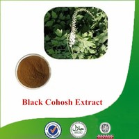 Natural & Pure Cimicifuga racemosa extract, Triterpenoid saponis, Black Cohosh Extract