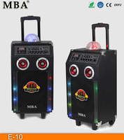 High quality strong best sound stage/karaoke/dj equipment big speaker with light ball