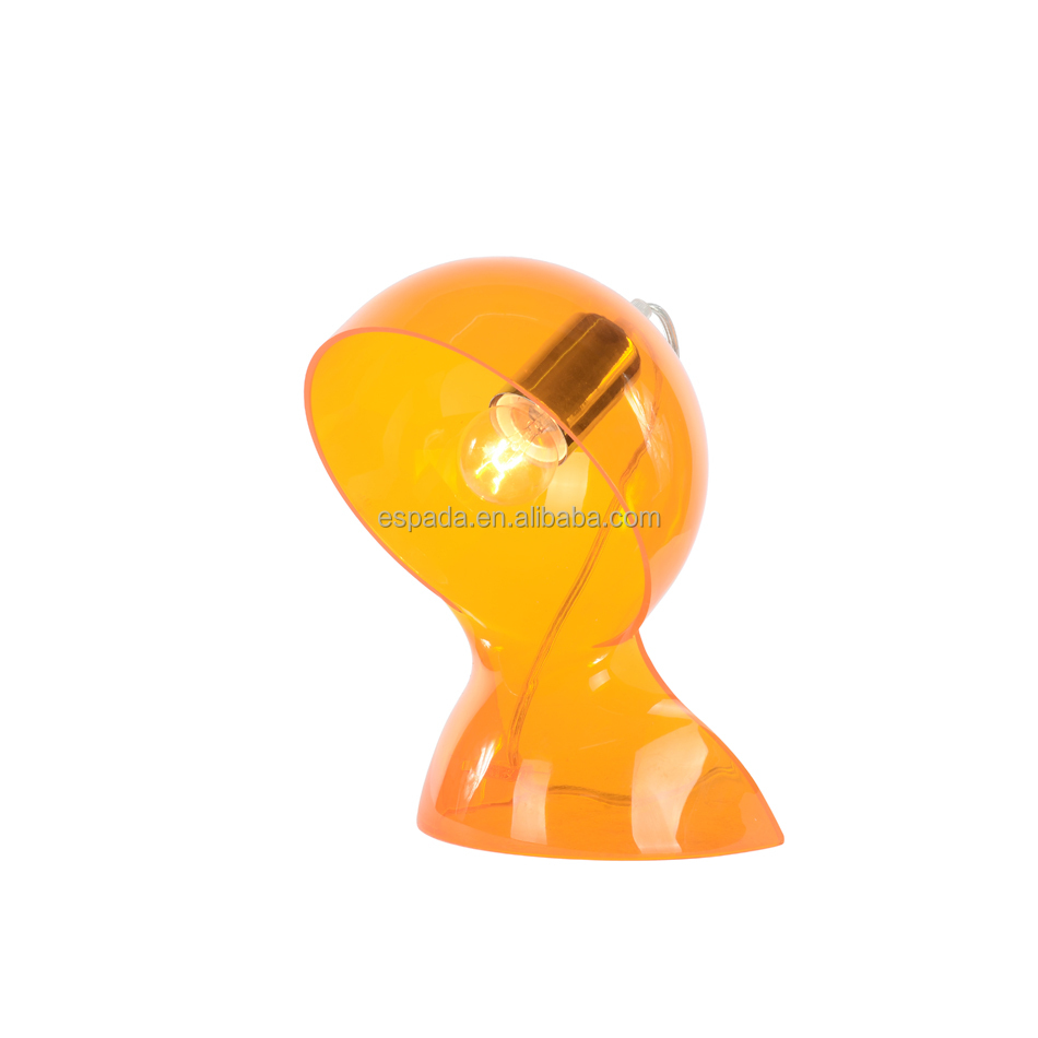Italy design dalu table lamp in yellow color