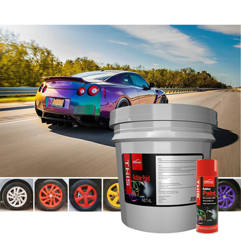 Accessories Car Rubber Paint Spray Modified Body kit removable peelable rubber coating spray for car