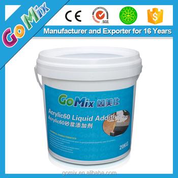 Acrylic60 Liquid Acrylic Resin - Buy Liquid Acrylic Resin,Cement Polymer  Additives,Cement Additive Quick Setting Product on Alibaba com