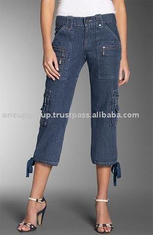 Capris Denim Jeans For Women, Capris Denim Jeans For Women ...