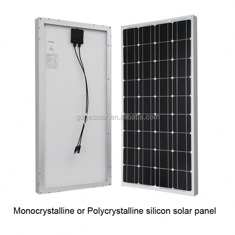 Top Popular 100W Mono Crystalline solar panels prices Wholesale