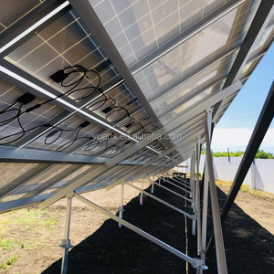 Solar Ground Mounting Solution with Rack for Solar Energy Farm Systems