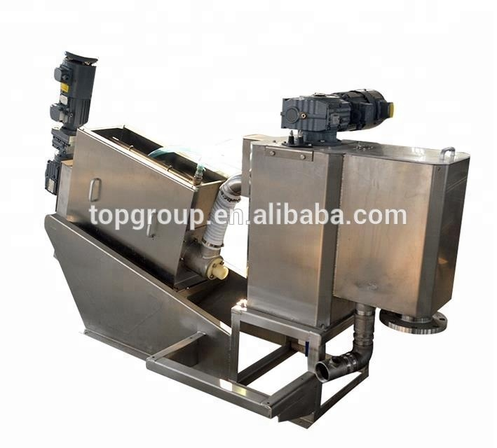 TPDL Volute Screw Sludge Dewatering Equipment for Chemical <strong>Industry</strong>