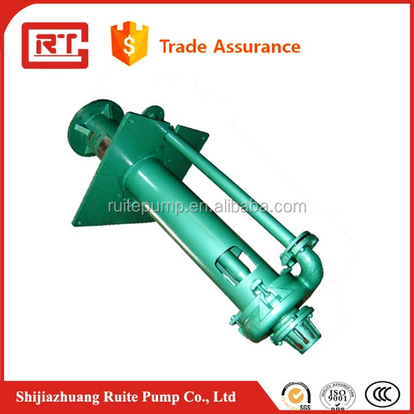 Single stage High chrome lined coal mining sump slurry pump