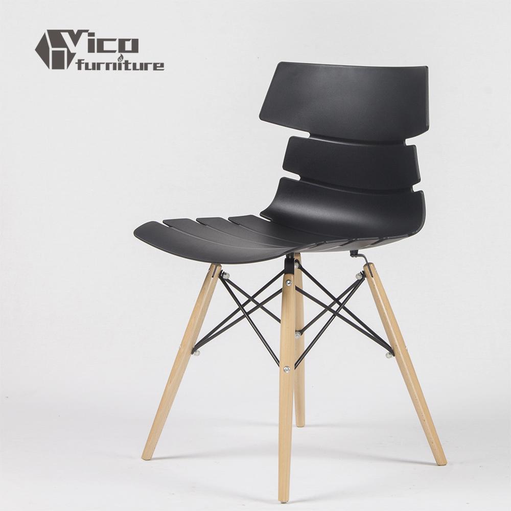 Comercio al por mayor venta caliente pp asiento de madera for Sillas para el hogar