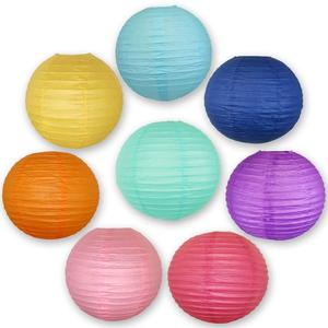 Different size Chinese paper lantern lamp for Christmas Wedding Decor glim festival decoration Lampion, party lantern YP001