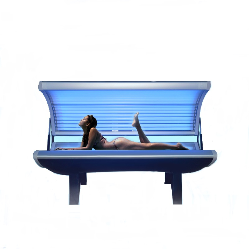 24/28 Cosmedico 110-220 volt Power Deluxe Facial Tanning Bed