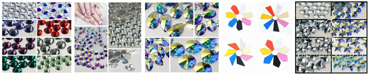 product-Wholesale Price DIY Jewelry Hair 6SS Flatback Crystal AB Hotfix Crystal Rhinestone-Jpstrass-3