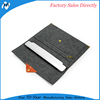 Felt logo customized soft tablet cover pouch