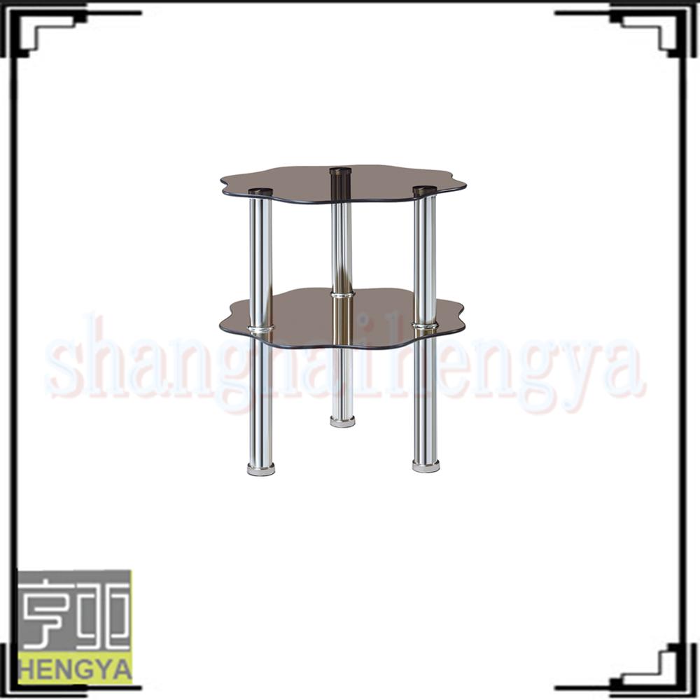 luxury glass triangle cream color coffee tables buy glass triangle coffee tables luxury glass. Black Bedroom Furniture Sets. Home Design Ideas