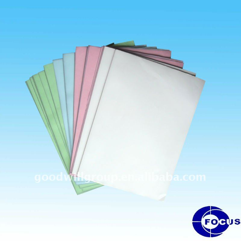 Multiple ply forms printing paper - carbonless paper