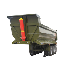 60ton mining hydraulic cylinder end dump truck chassis for sale