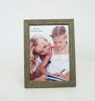 Wood material funny valentine day photo frame for boy and girl