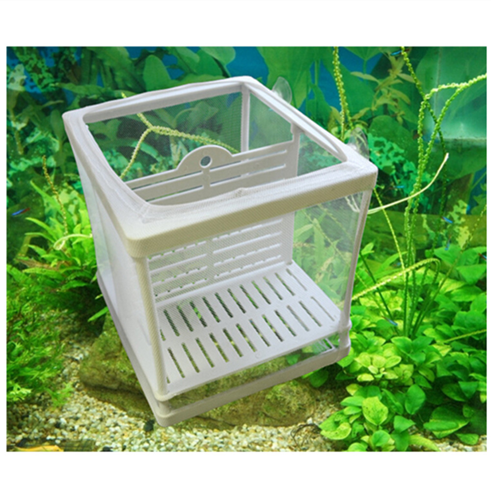 Aquarium Fish Tank Guppy Hatchery Breeding Hospital Soft Net Baby ...