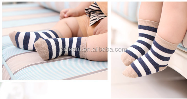 baby cotton socks warm dress socks for1-3years old