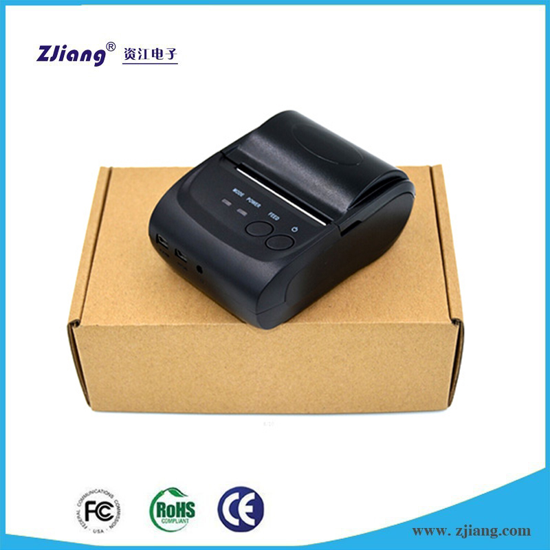 Zjiang POS-5802LD Portable thermal bluetooth printer with sdk low price for sale