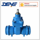 Socket Welded Soft Rubber Resilient Seat Gate Valve for PVC Pipe