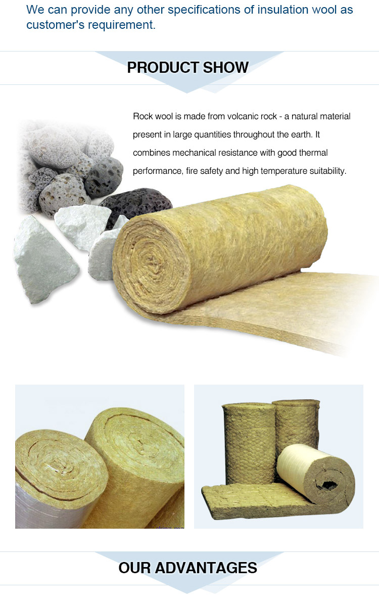 Rockwool mineral wool basalt wool thermal insulation for 2 mineral wool insulation